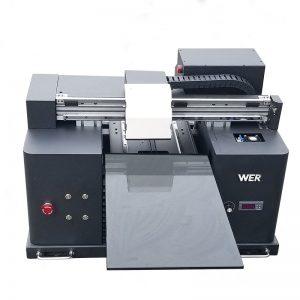 2018 UV-lövhə flatbed printer a4 dtg t kömür loqosu çap maşın satış WER-E1080T