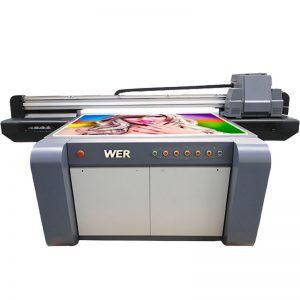3D təsiri UV flatbed printer, keramika printer, Çin çini çap maşını WER-EF1310UV