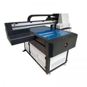 3D effektli A1 UV printer dijital 6090 düzbucaqlı UV çap maşını / Vernik çap