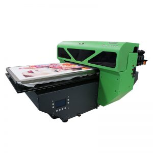 A2 ölçülü digital DTG T-shirt printeri flatbed printer 8 rəng DX5 printer rəhbəri WER-D4880T