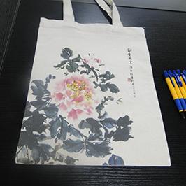 A2 t-shirt printerindən tuval çanta çap nümunəsi WER-D4880T