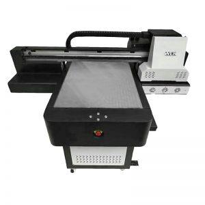Kiçik ölçülü yüksək keyfiyyətli telefon kassa düzbucaqlı UV printer WER-ED6090UV