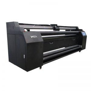 WER-E1802T 1.8m 2 * DX5 sublimasiya printeri ilə toxuculuq printerə yönəldilir