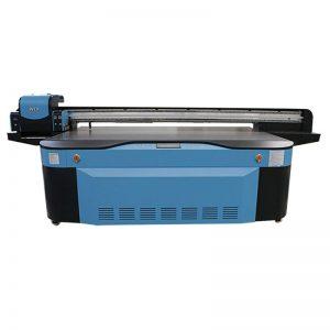 tam rəng CMYK LCLM ağ laklı UV düzbucaqlı printer 3D WER-G2513UV