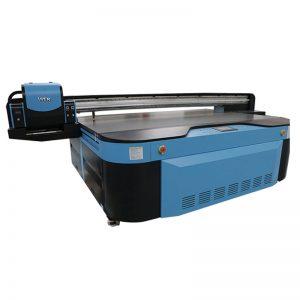 2,5m * 1,3m çap ölçüsü metal üçün 3d rəngli, sənaye Led UV printer, ağac, cam, keramika, board, akril, pvc,